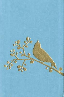 Image for Niv Thinline Flora and Fauna Collection Bible Compact Turquoise