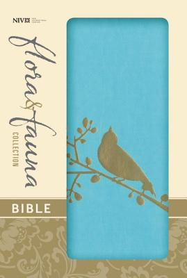 Image for NIV, Flora and Fauna Collection Bible, Imitation Leather, Blue
