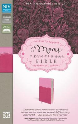 "Image for ""Moms Devotional Bible (NIV, PinkHot Pink Italian Duo-Tone)"""