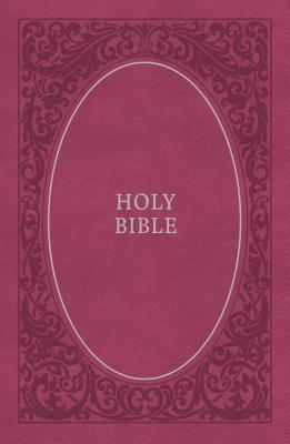 """Image for """"NIV Comfort Print Holy Bible, Soft Touch Edition, Imitation Leather, Pink"""""""