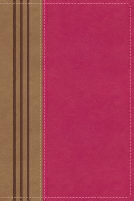 Image for NIV, Biblical Theology Study Bible, Leathersoft, Pink/Brown, Thumb Indexed, Comfort Print: Follow God's Redemptive Plan as It Unfolds throughout Scripture