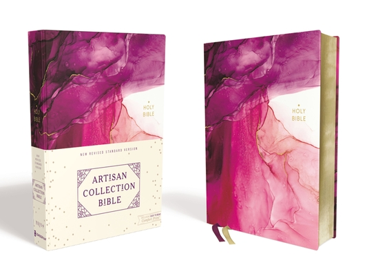 Image for NRSV, Artisan Collection Bible, Cloth over Board, Pink, Art Gilded Edges, Comfort Print