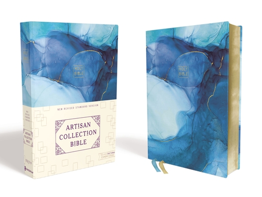 Image for NRSV, Artisan Collection Bible, Cloth over Board, Blue, Art Gilded Edges, Comfort Print