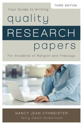 Image for Quality Research Papers: For Students of Religion and Theology