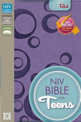 Image for NIV Bible for Teens (Puiple Italian Duo-Tone)