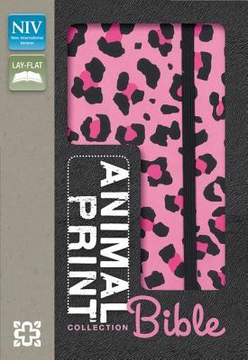 "Image for ""Animal-Print Collection Bible (NIV, LeopardPink Italian Duo-Tone)"""