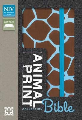 Image for Animal Print Collection Bible (NIV GiraffeAqua Italian Duo-Tone)
