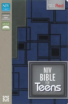 Image for NIV Bible for Teens (CharcoalBlue Italian Duo-Tone)