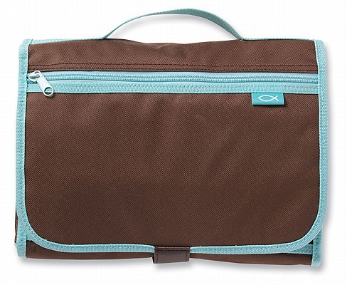 Image for 025986823900 Tri-Fold Organizer Brown Large