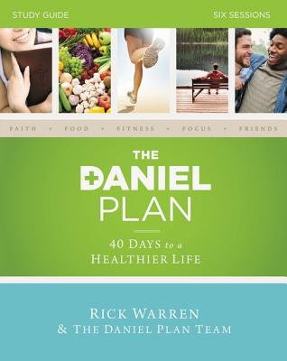 Image for The Daniel Plan Study Guide: 40 Days to a Healthier Life