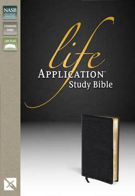 "Image for ""Life Application Study Bible (NASB, Black Top Grain Leather, Gilded-Gold Page Edges)"""