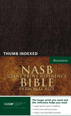 Image for NASB Giant Print Reference Bible, Personal Size, Indexed