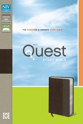 NIV Quest Study Bible: The Question and Answer Bible [Deluxe Edition], Zondervan (Author)