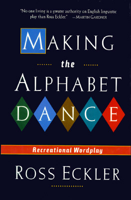 Image for MAKING THE ALPHABET DANCE