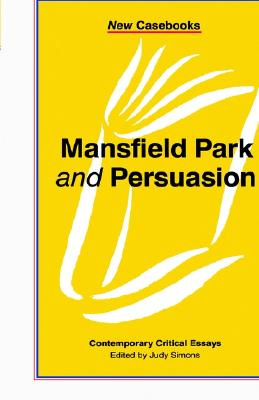 Image for Mansfield Park and Persuasion (New Casebooks (Hardcover))