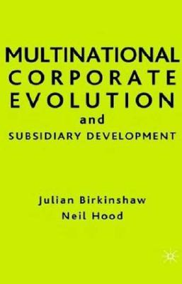 Image for Multinational Corporate Evolution and Subsidiary Development (Singular Audiology Text)