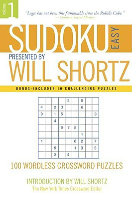 Image for Sudoku Easy : Presented by Will Shortz 100 Wordless Crossword Puzzles