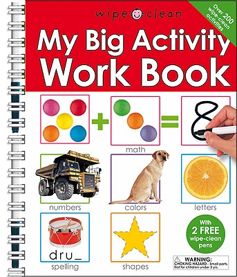 My Big Activity Work Book (Wipe Clean), Roger Priddy