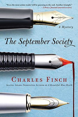 The September Society (Charles Lenox Mysteries), Finch, Charles