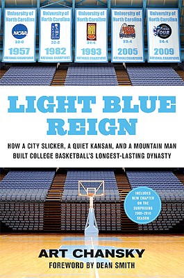 Image for Light Blue Reign: How a City Slicker, a Quiet Kansan, and a Mountain Man Built College Basketball's Longest-Lasting Dynasty