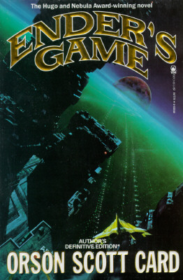 Enders Game, ORSON SCOTT CARD