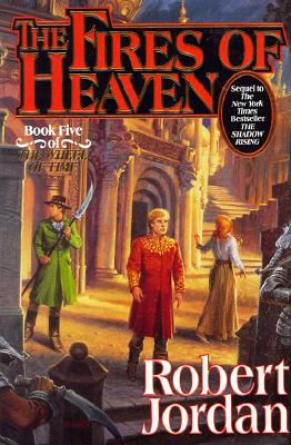 Image for The Fires of Heaven **SiGNED 1st Ed /1st Printing + Photo** (The Wheel of Time, Book 5)