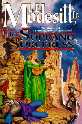 Image for The Soprano Sorceress (Spellsong Cycle, Book 1)