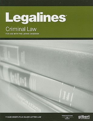 Image for Legalines on Criminal Law, Keyed to LaFave