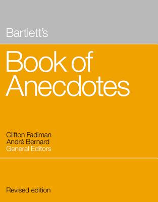 Image for Bartlett's Book of Anecdotes
