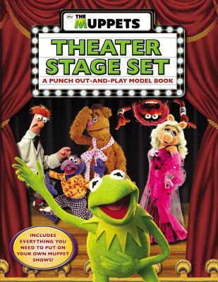 The Muppets: The Muppets Theater Stage Set: A Punch Out-and-Play Model Book, Mayer, Kirsten