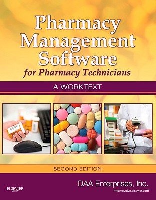 Image for Pharmacy Management Software for Pharmacy Technicians  A Worktext, 2e