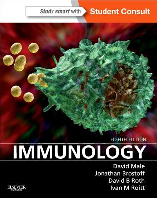 Immunology: With STUDENT CONSULT Online Access, 8e, David Male MA PhD (Author), Jonathan Brostoff MA DM DSc(Med) FRCP FRCPath (Author), David Roth MD PhD (Author), Ivan Roitt DSc HonFRCP FRCPath FRS (Author)