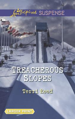 Treacherous Slopes (Love Inspired LP Suspense), Terri Reed