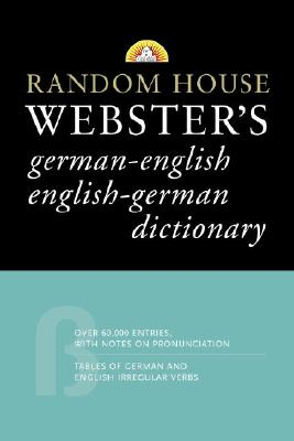 Image for Random House Webster's German-English English-German Dictionary