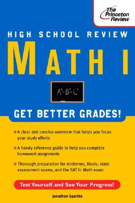 High School Math I Review (Princeton Review), Jonathan Spaihts