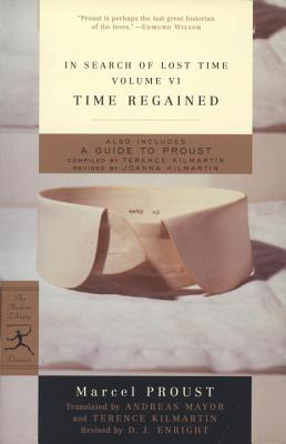 """Image for """"Time Regained: In Search of Lost Time, Vol. VI (Modern Library Classics) (v. 6)"""""""