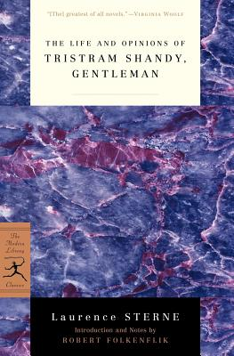 Image for Life and Opinions of Tristram Shandy, Gentleman (Modern Library Classics)
