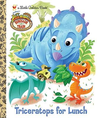 """Dinosaur Train: Triceratops for Lunch (Little Golden Book), """"Books, Golden"""""""