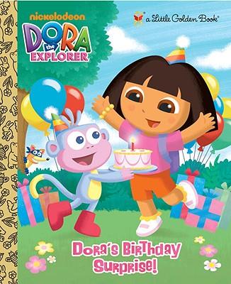 Image for Dora's Birthday Surprise! (Dora the Explorer) (Little Golden Book)