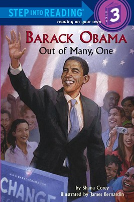Barack Obama: Out of Many, One (Step into Reading), Corey, Shana