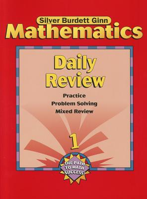 Image for Daily Review Grade 1 (Silver Burdett Ginn Mathematics, The Path to Math Success)