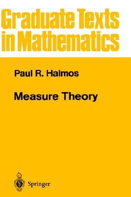 Image for Measure Theory (Graduate Texts in Mathematics) (v. 18)
