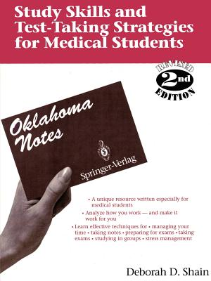 Image for Study Skills and Test-Taking Strategies for Medical Students: Find and Use Your Personal Learning Style (Oklahoma Notes)