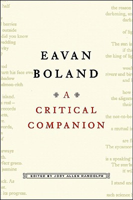 Eavan Boland: A Critical Companion, Boland, Eavan;