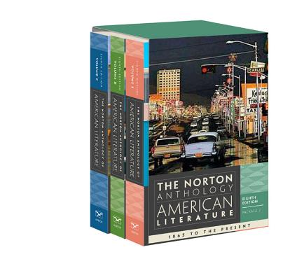 Image for The Norton Anthology of American Literature (Eighth Edition)  (Vol. Package 2: Volumes C, D, E)