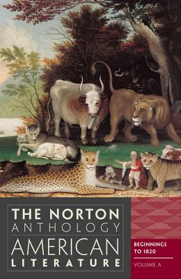 Image for The Norton Anthology of American Literature (Eighth Edition)  (Vol. A)