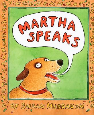 "Martha Speaks Book and CD, ""Meddaugh, Susan"""