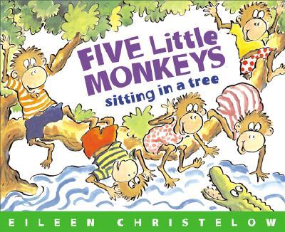 Image for FIVE LITTLE MONKEYS SITTING IN A TREE