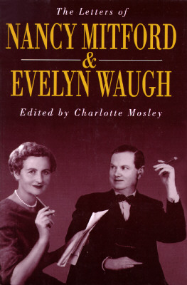Image for LETTERS OF NANCY MITFORD AND EVELYN