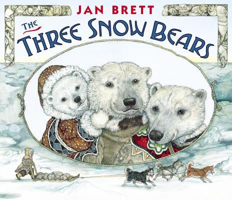 The Three Snow Bears: oversized board book, Brett, Jan